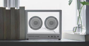 Small Transparent SpeakerSmall Transparent Speaker