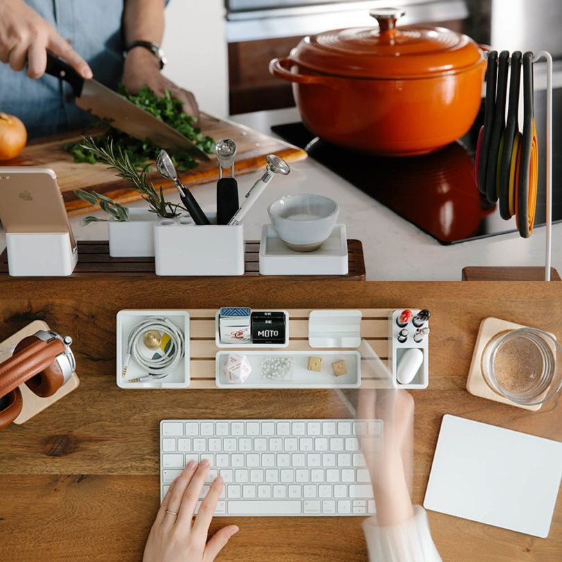 Gather Modular Desk Organizer