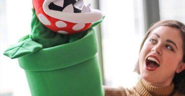 Super Mario Gigantic Piranha Plant Puppet