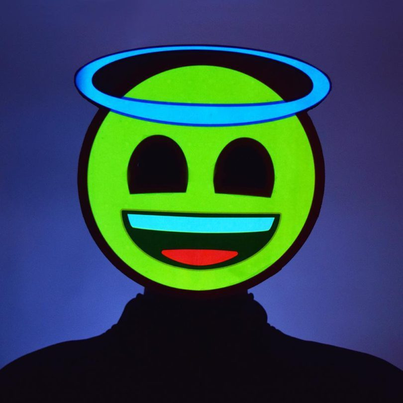 Light-Up Emoji Masks
