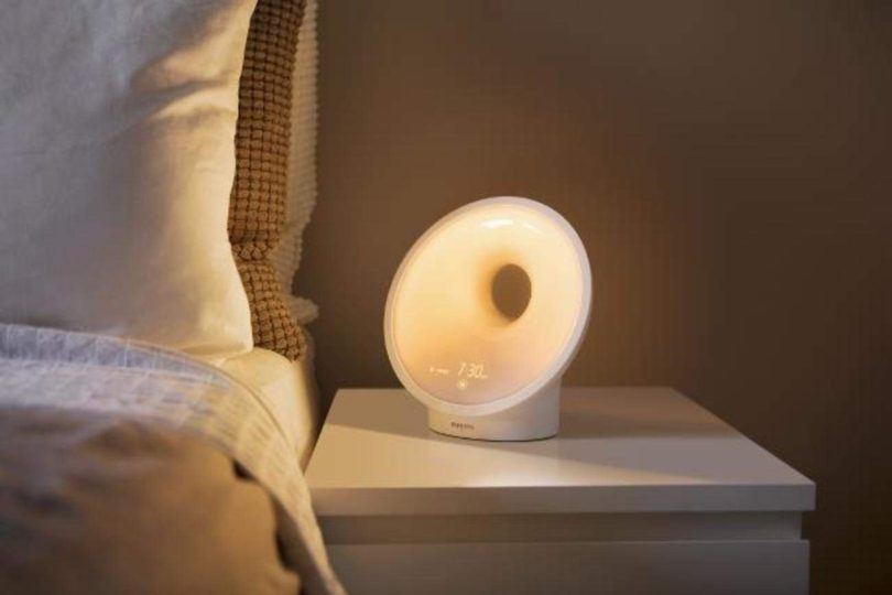 Philips Somneo Sleep and Wake-up Light Therapy Lamp