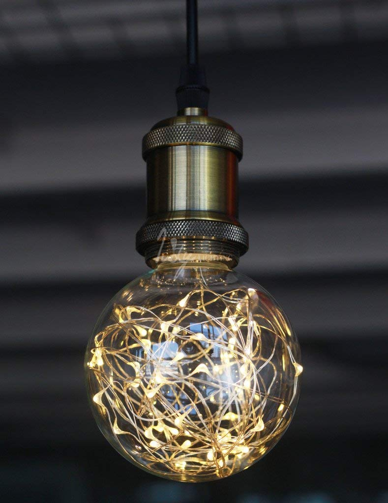 LED Globe Fairy Light Bulb for Ambient Night Lighting