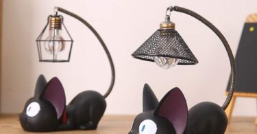 WINOMO Resin Cat Design lamp