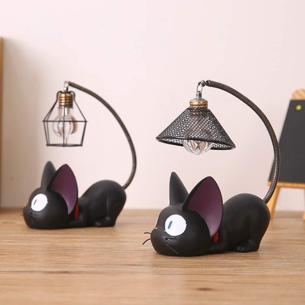 WINOMO Resin Cat Design lamp