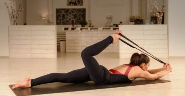 Yoga EVO Elastic Stretching Strap with Loops