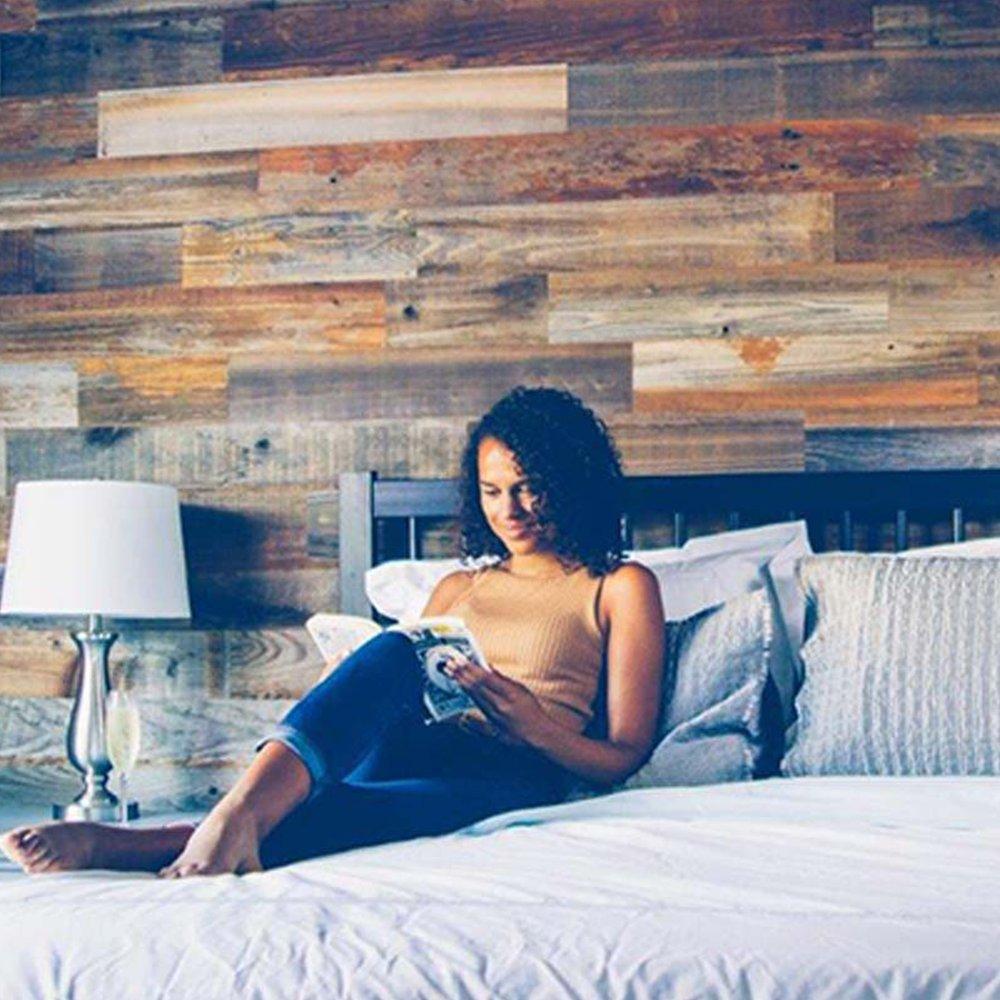 Weekend Walls – Reclaimed Weathered Redwood