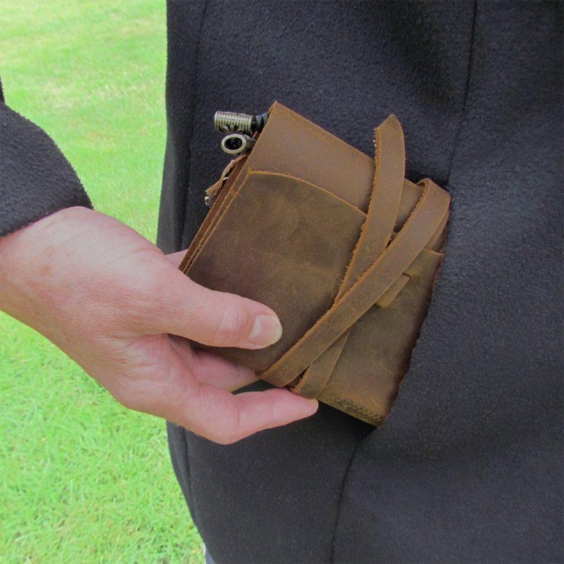 Passport Travelers Notebook Pocket Refillable Leather Journal
