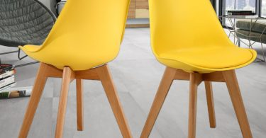 NOBPEINT Eames-Style Mid Century Dining Chairs