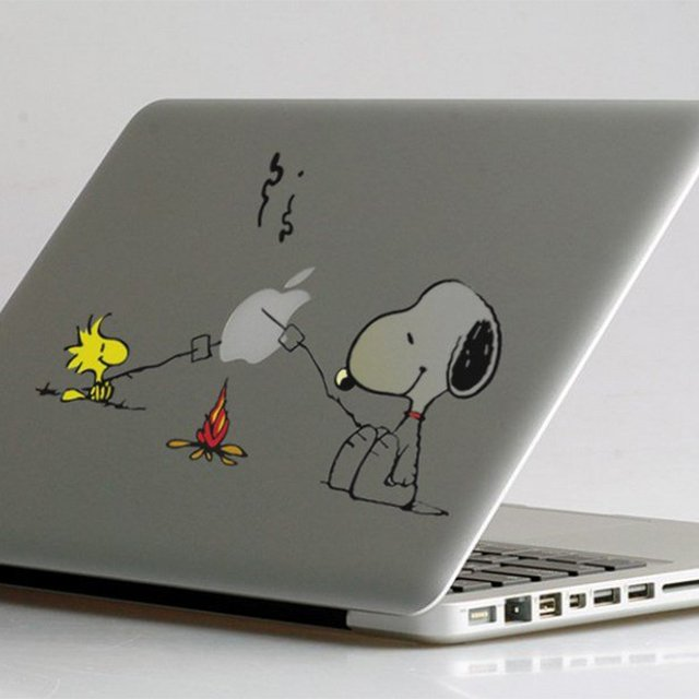 Snoopy Bbq Macbook Decal 187 Petagadget