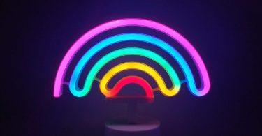 Neon Signs Rainbow Indoor Night Light