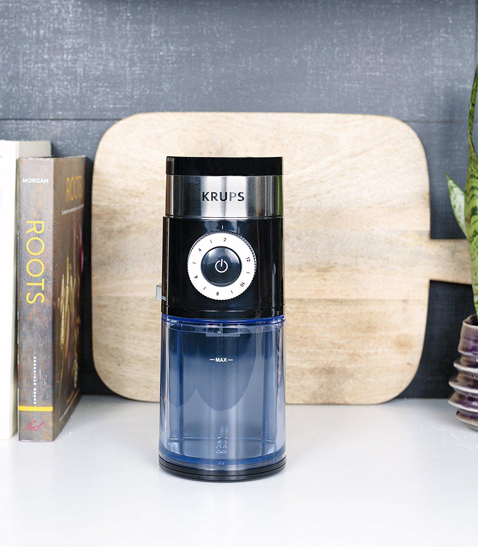 KRUPS GX5000 Burr Coffee Grinder