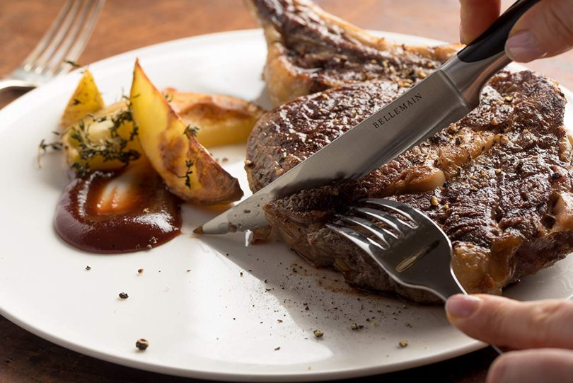 Bellemain Premium Steak Knife Set of 4 Stainless Steel