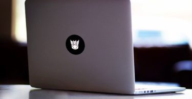 Transformer MacBook Decal