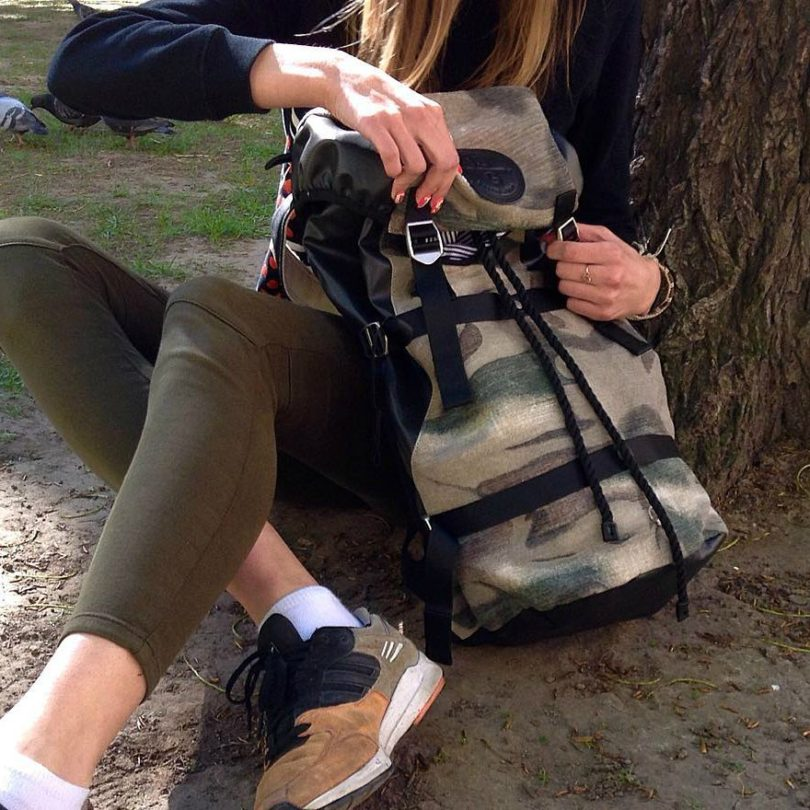 Conn Camouflage Laptop Backpack by Stighlorgan