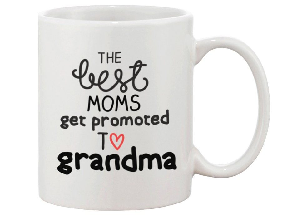 Promoted To Grandma Mug