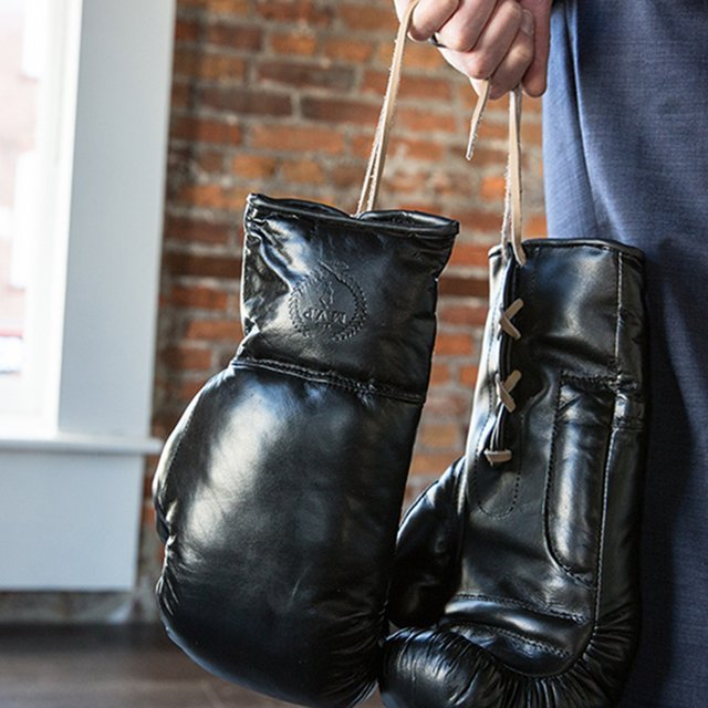 MVP Executive Leather Boxing Gloves