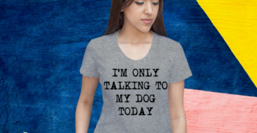 Only Talking To My Dog Today T-shirt