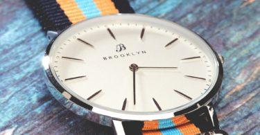Brooklyn Flatland Casual Super Slim Swiss Quartz Slim Watch BW-104-U11144