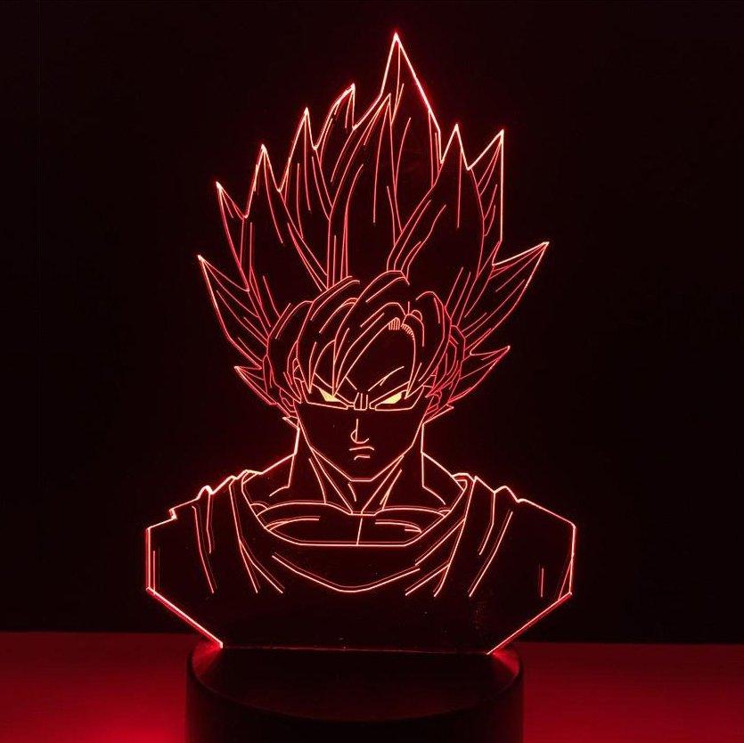 Goku 3D Table Lamp