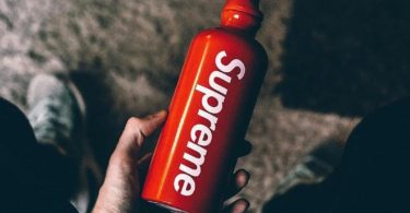 Supreme SIGG Traveller 0.6L Water Bottle Red