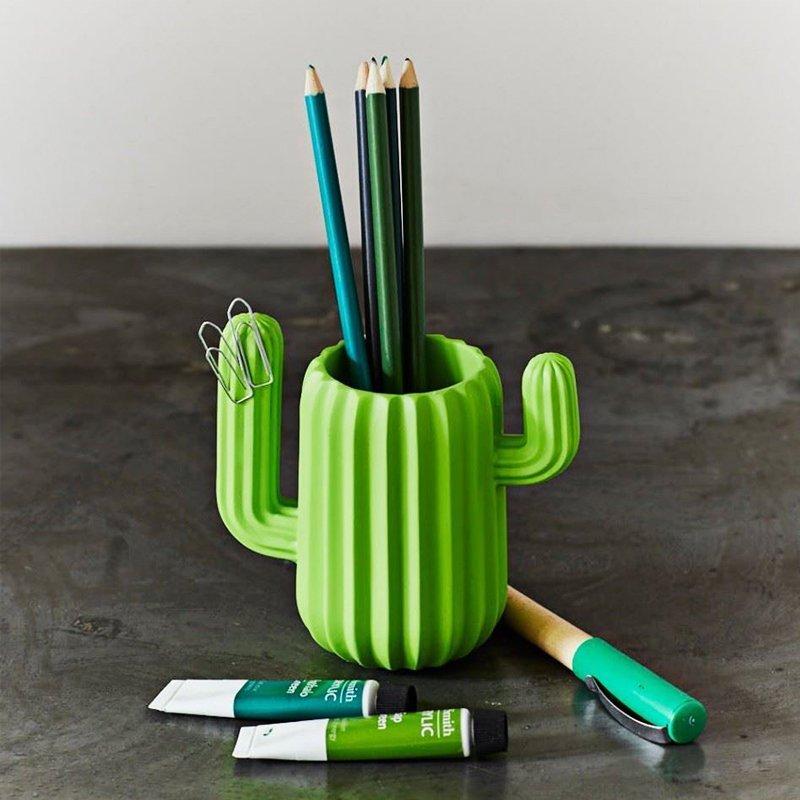 Cactus Pen Container