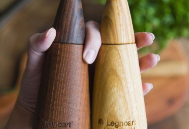 Legnoart Coppia Pepper and Salt Mill Set