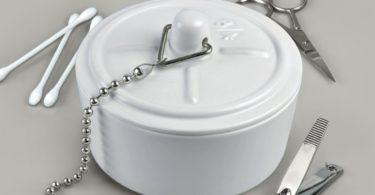 In Sink Ceramic Storage Box