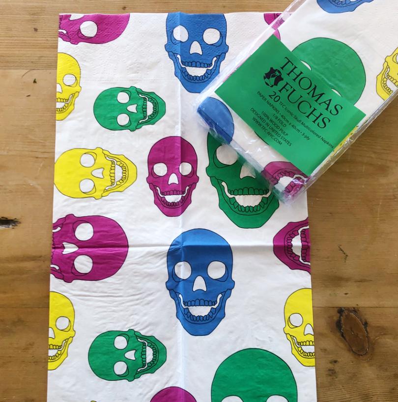 Skull Paper Napkins