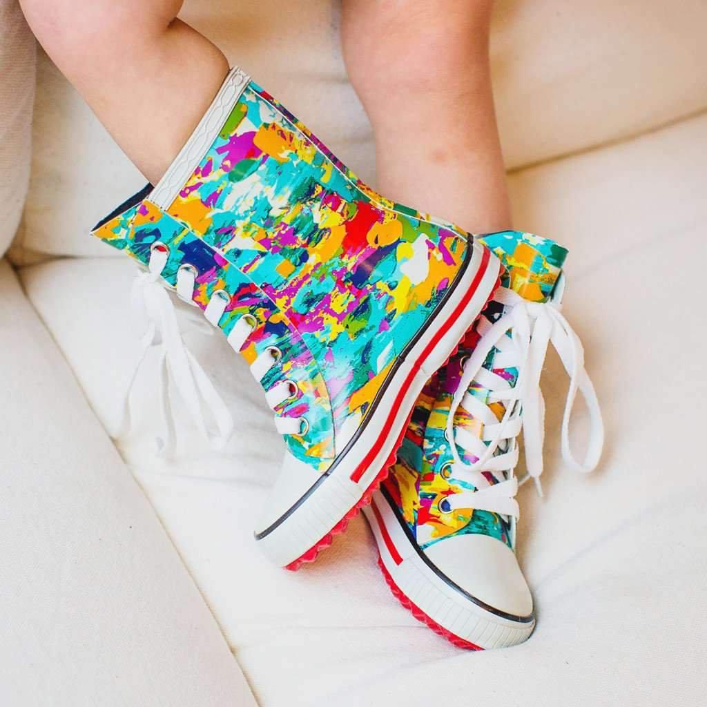 ROMA ILONA Youth Art 4 Rain Boots