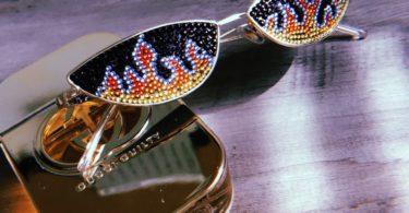 Hellcat Gold Sunglasses