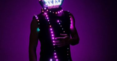 LED Screen Helmet