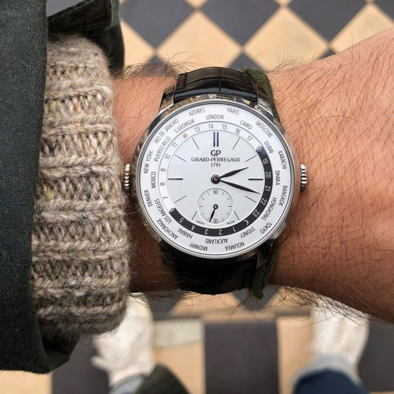Girard Perregaux 1966 WW.TC 40mm Watch