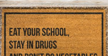 Eat Your School Doormat