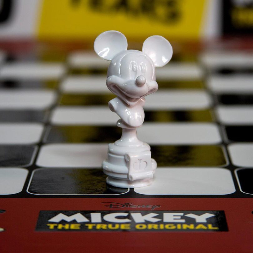 Mickey The True Original Chess Set 90th Anniversary