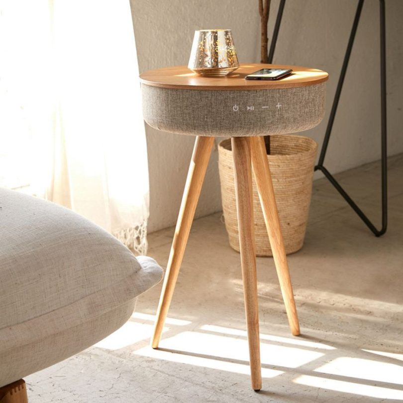 Victrola Bluetooth Speaker Table