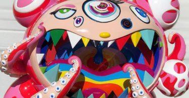 ComplexCon x BAIT x Takashi Murakami Mr. Dob B Figure Multicolor