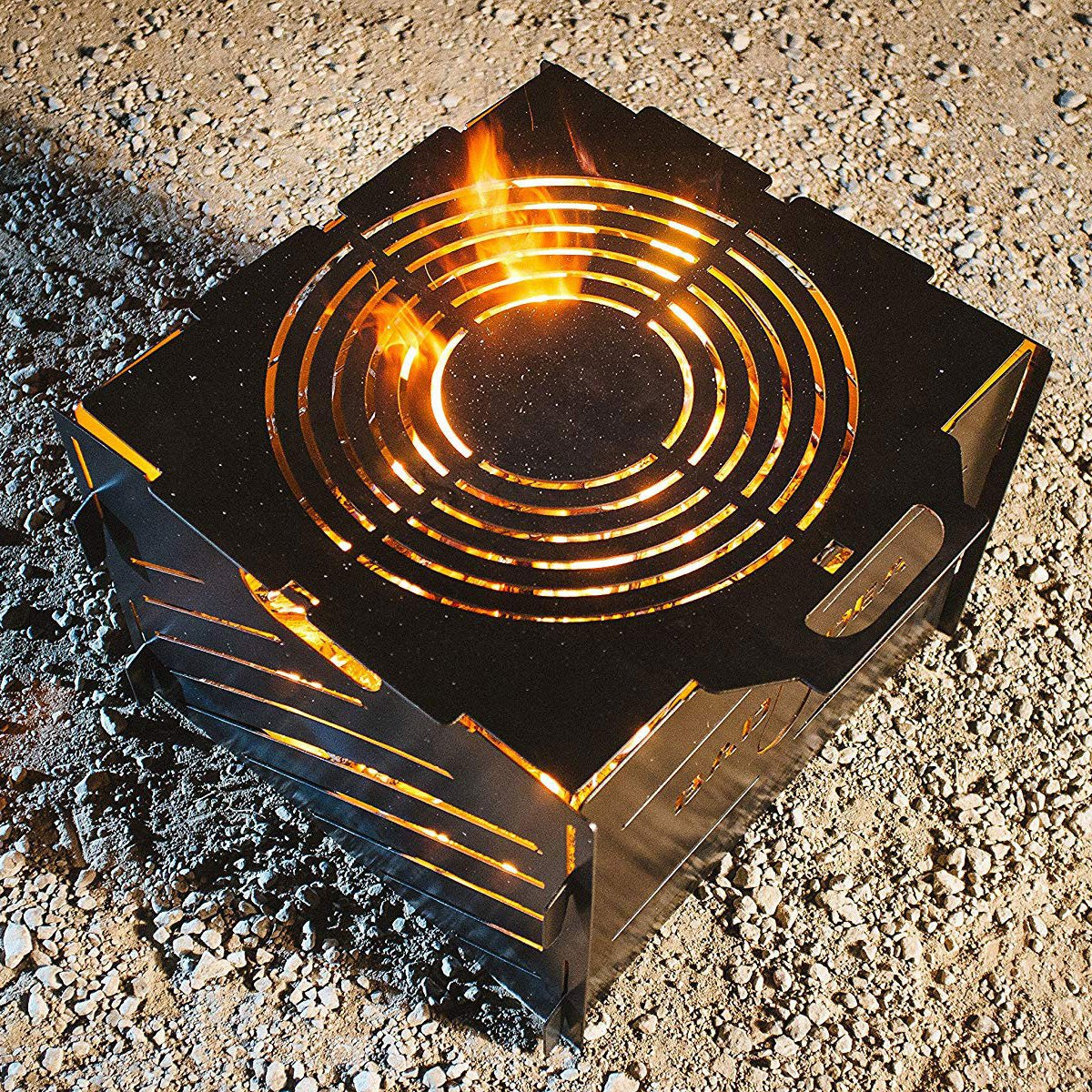 Pyro Cage 16″ Portable Fire Pit Camp Stove