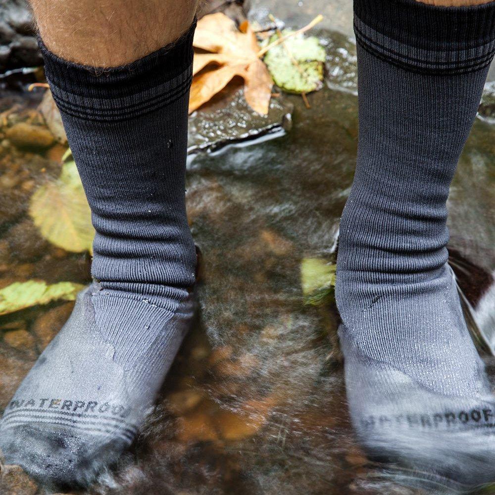 Crosspoint Waterproof Wool Crew Socks