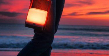 Lucis 2.1 Bamboo Portable Lamp & Powerbank