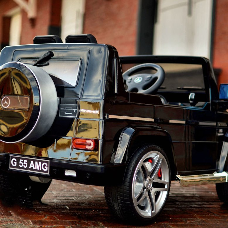 Mercedes G55 Premium Ride On Kids SUV