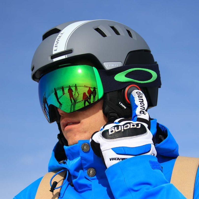 Smart Skiing Helmet