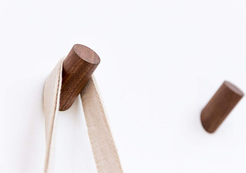 Astra Gourmet Natural Wooden Coat Hooks