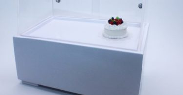 Acrylic Display Ice cream Cabinet Handcraft
