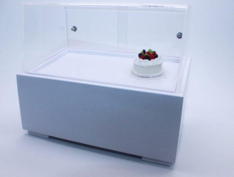 Acrylic Display Ice cream Cabinet Handcraft