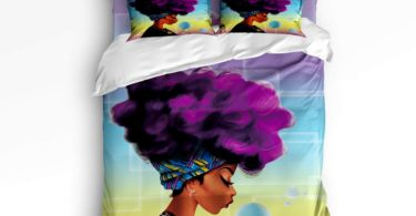 Fandim Fly Bedding Set Queen Size Traditional African