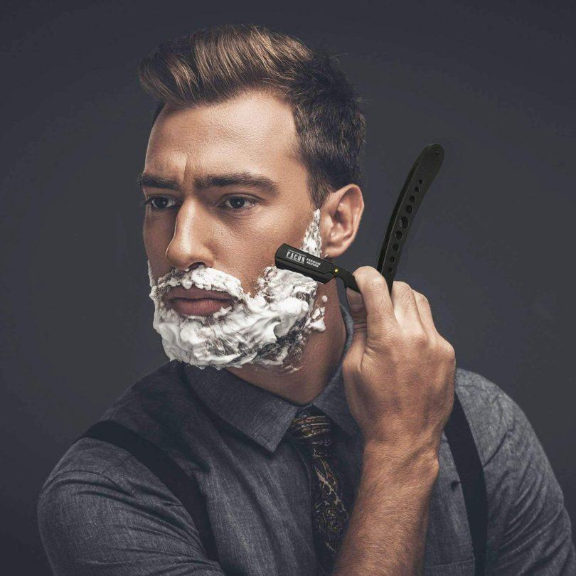 Facón Professional Classic Straight Edge Barber Razor