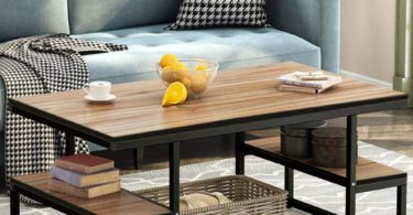 Tribesigns Modern Coffee Table