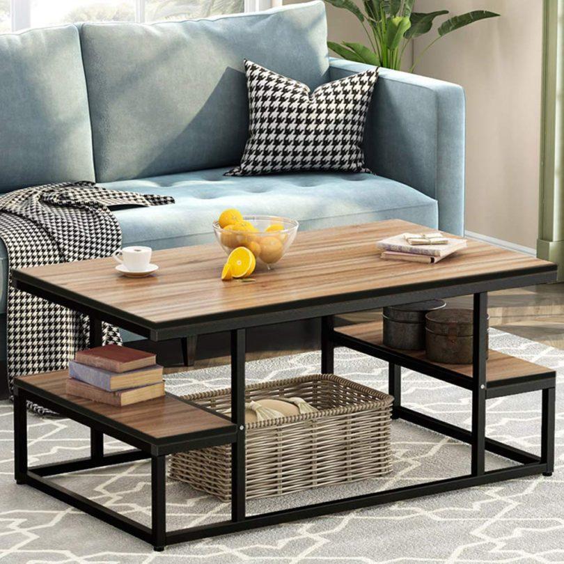Tribesigns Modern Coffee Table