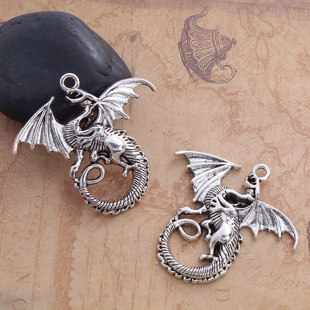 Dragon Charm Pendants