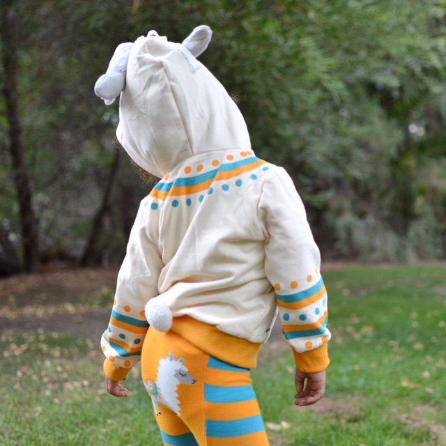 Llama 3D Hoodie